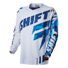 Shift MX Mens Faction Jersey - Blue Camo motocross offroad trail enduro