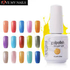 Hot 15ml Nail Gel Art Clavo Nail Art Soak Off UV Gel Base Top Coat 220 Colors