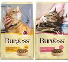 BURGESS CAT - (1.5kg / 10kg) - Pet Food Dry Biscuit Meal Kibble Feed bp PawMits