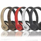Textured Skin Sticker For Dre Beats Solo 1 - 2 & 3 Finishes in carbon wood matt