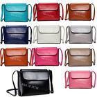 New Cross Body Messenger Women Clutch Handbag Ladies Faux Leather Shoulder Bag