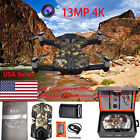 Wingsland S6 Pocket Drone RC Quacopter 4K HD Camera Drone + 2 Batterys US Stock