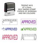 APPROVED SELF INKING RUBBER STAMP OFFICE SCHOOL BUSINESS ACCOUNTS SHOP BUSINESS