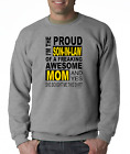 Long Sleeve T-shirt Unique I'm the proud SON-IN-LAW freaking awesome MOM