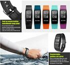 Bluetooth SMART Wristband Fitness Sports Heart Rate Monitor Watch Tracker GPS