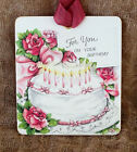 Hang Tags FOR YOUR BIRTHDAY CANDLE FILLED CAKE TAGS or MAGNET #347  Gift Tags