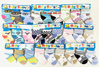 3 Pairs Baby Boy/Girl Infant Toddler Super Stretch Socks 0-12m Multi Designs