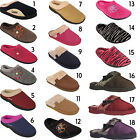 New Ladies Womens Luxury House Soft Bedroom Slip On Slippers Mules Shoes Sizes