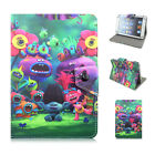 "For RCA 7 VOYAGER RCT6873W42 7"" Tablet PC Universal 7""PU Leather Case Cover Kids"