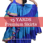 25 Yard Professional Belly Dancing Performance Gypsy Belly Dance Skirt -30 Color