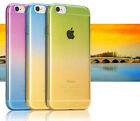 New Mix color Thin Clear TPU Soft Skin Case Cover For iPhone 5 5s SE 6 6S 7 Plus