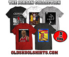 MICHAEL JORDAN 5 T-SHIRT COLLECTION *OLD SKOOL  Mens Shirt *