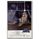 Star Wars Episode IV A New Hope Classic Movie Silk Poster 12x18 24x36 inch 002 $6.14 CAD