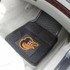 MLB - VINYL CAR MATS - SET OF 2 - CHOOSE YOUR FAVORITE TEAM!