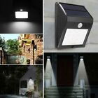 16 LED Solar Power Motion Sensor Wall Light Outdoor Garden Lawn Path Lamp CLSV