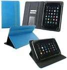 Universal Wallet Case Cover Stand fits Vexia Zippers 7i 3G Plus 7 Inch Tablet