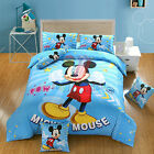 BRAND NEW DISNEY MICKEY MOUSE 8PCS TWIN FULL QUEEN SIZE COMFORTER IN A BAG