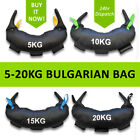 Nature Fitness 5- 20KG Bulgarian Bag Gym Weight Crossfit Strength Kettlebell