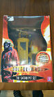 Doctor Who Figures - The Satan Pit Set with orange suit/ capsule/ lift/ elevator