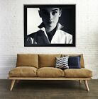 Audrey Hepburn poster print matte watercolor vintage beauty fashion legend
