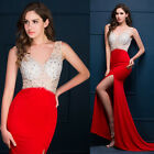 Women Formal Long Party Prom Cocktail Mermaid Evening Wedding Banquet Maxi Dress