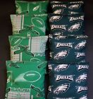 VINTAGE PHILADELPHIA EAGLES CORNHOLE BEAN BAGS 8 ACA Reg made w NFL TEAM Fabric $34.19 USD on eBay