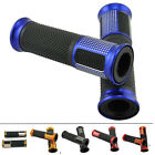 """CNC Aluminum Motorcycle Rubber Gel Hand Grips for 7/8"""" Handle Bar Bike Bicycle"""