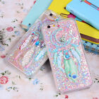 Dreamcatcher Glitter Quicksand Hard Back PC Cover Case For iPhone 5/5s/6/7 Plus