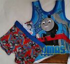 THOMAS & FRIENDS Boy Licensed singlet tank vest & briefs trunks set NEW sz 2-4