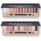 Naked Shimmer Eyeshadow Gilter Eye Shadow Palette&Makeup Cosmetic Brush kits