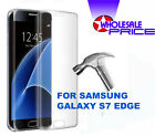 For Samsung Galaxy S7 Edge Premium Anti Shock Clear Full Glass Screen Protector