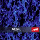 Blue Blaze Flames Hydrographics Film - Check Shipping Details