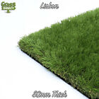 LISBON REALISTIC ARTIFICIAL GRASS LUXURY CHEAP FAKE LAWN GARDEN ASTRO TURF