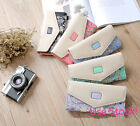 Fashion Women  Lady Cute Floral Print Wallet Purse Handbag Clutch Card Holder