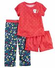 Carter's   Girls' 3-Piece Jersey PJs   MSRP$36.00  Size 8, 10, 12