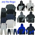 New Tracksuit Set Mens Fleece Hoodie Top Bottoms Joggers Gym Trackies Jogging