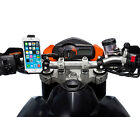 """Motorcycle Quick Release Handlebar 21-30mm Mount + Holder for iPhone 6 6s 4.7"""""""