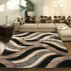 NEW Shaggy Luxury 5328 Rug in Brown