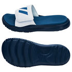 Adidas 2017 Alphabounce Slide 3-Stripes Slipper Beach Sandals Blue/Navy BA8777