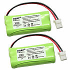 2-Pack Phone Battery for AT T CL, CRL, EL, TL Series Home Cordless Telephones