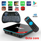 Q Plus Octa-Core 16GB 1080p/4K Android 6.0 TV Box Fully Loaded+Backlit Keyboard