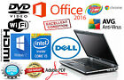 DELL LATITUDE Laptop Computer PC CORE I5 Windows 10 WiFi DVD 8GB NOTEBOOK OFFICE