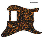 H PICKGUARD für US / MEXICO STRAT Standard od. Floyd Rose Tremolo brown tiger