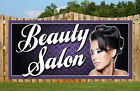 beauty salon PVC BANNER BANNERS SIGN SIGNS POSTERS VINYL LETTERING  hairdressing