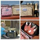 SUPER SEXY FUNKYCAT LEOPARD PRINT COOLER INSULATED LUNCH BAGS BABY FOOD PICNIC