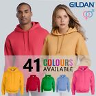 GILDAN HEAVYWEIGHT Plain Hooded Sweatshirt Hoodie G18500 | 33 COLOURS | S - 5XL
