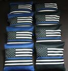 BLUE LIVES MATTER Police US Blue Line FLAG 8 ACA regulation Cornhole bags B339