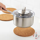 New Ikea Heat Cork Mat Kitchen Worktop Saver Pot & Pan Cooking Stand