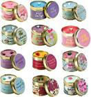NEW HIGHLY FRAGRANCED SCENTED CANDLE TINS FROM BOMB COSMETICS WITH FREE POSTAGE
