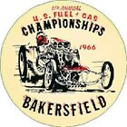 1966 U.S. FUEL AND GAS CHAMPIONS VINYL DECAL (A4771)